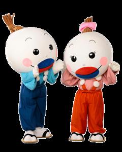 ひこちゃん&ゆずちゃん(添田町)